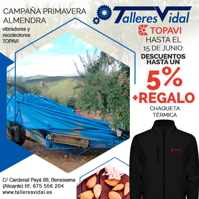 Promoción Topavi campaña almendra 2019